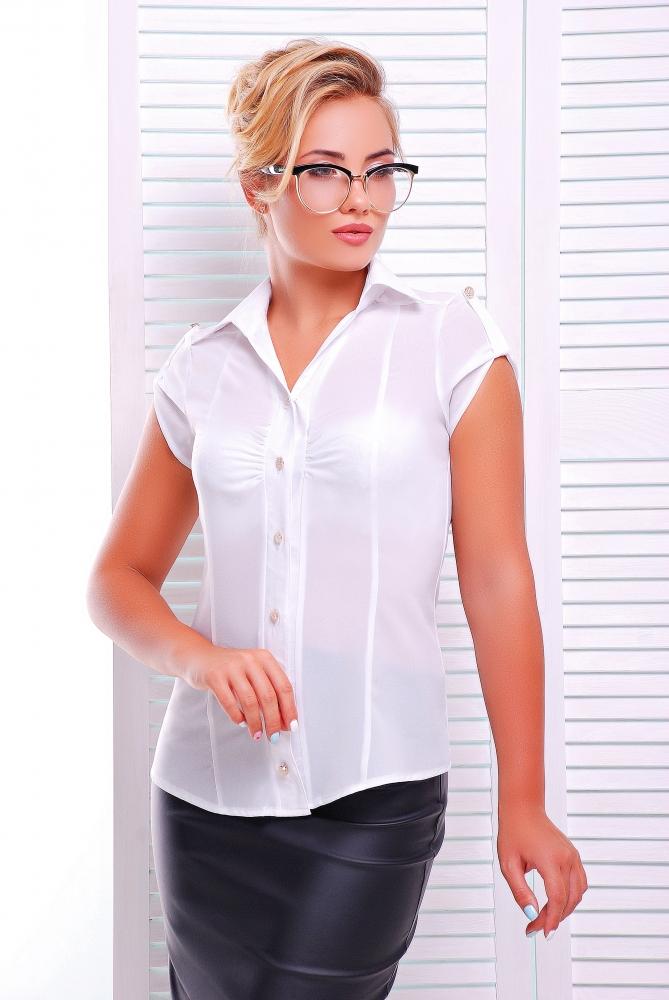 "Рубашка""Альфа""белый"