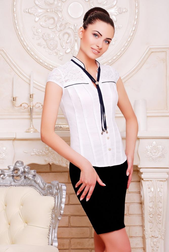 "Рубашка""Маргарита""белый"