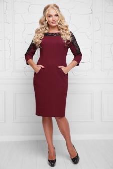 Платья больших размеров оптом от производителя Lenida. Платья батал ... 96451f9ba3f76