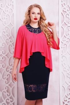 Купить стильные платья больших размеров недорого