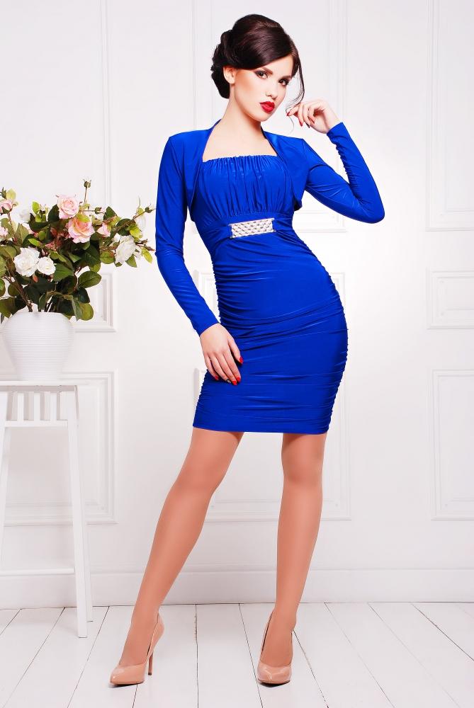 Электрик цвет платья